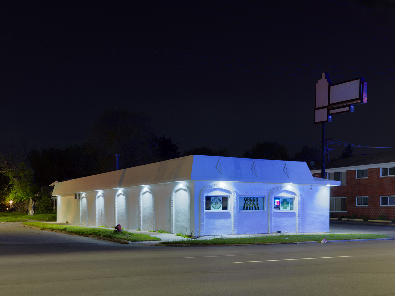 Medical Marijuana Dispensary #81, Eastside, Detroit 2016