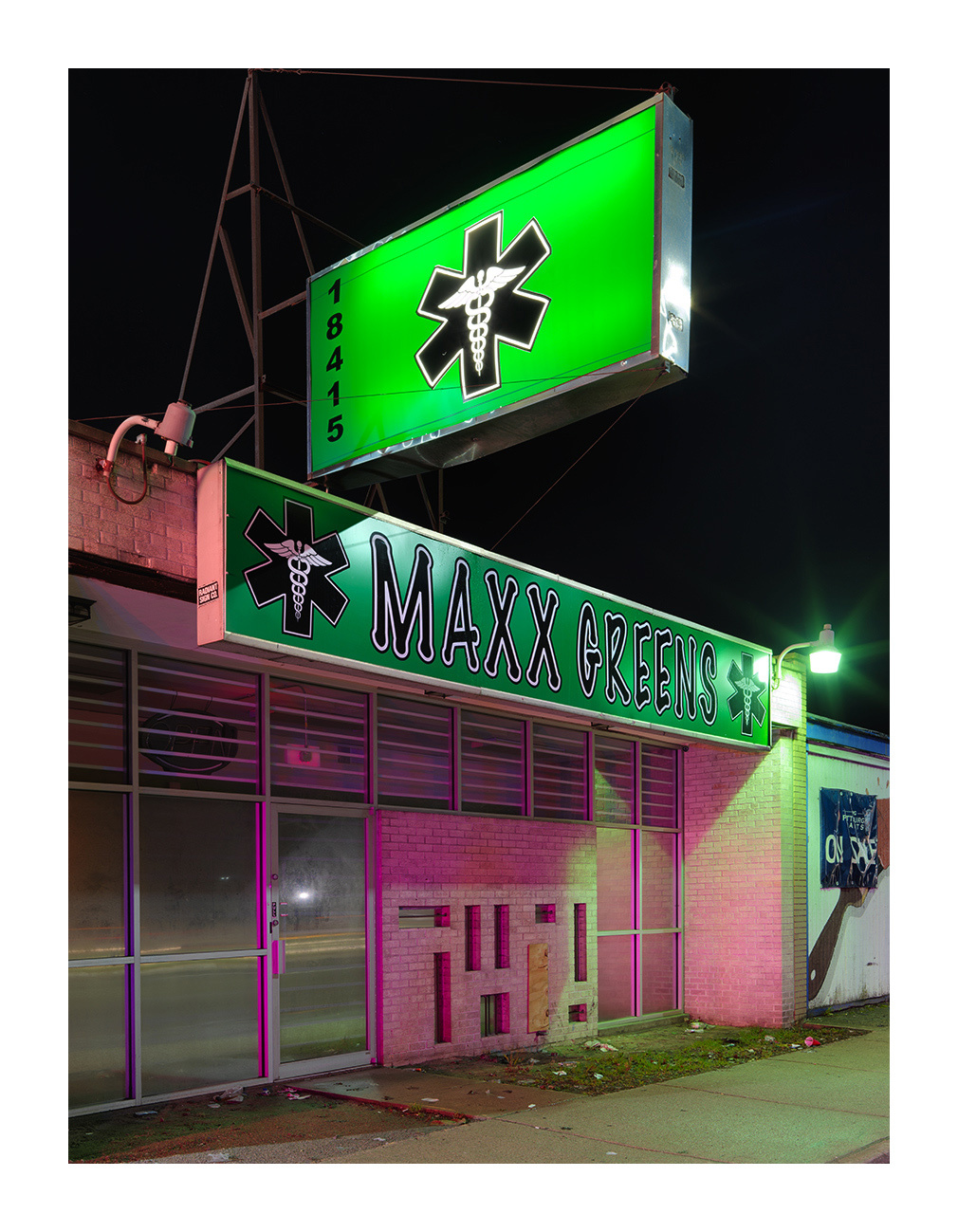 Medical Marijuana Dispensary #53, Westside, Detroit 2016