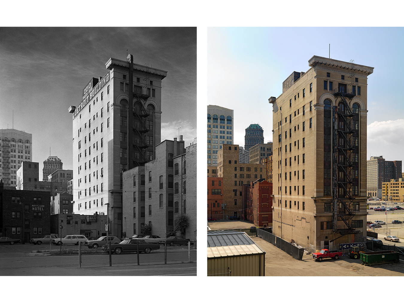 The Detroit Building, 2210 Park Avenue, Detroit 1973-2010