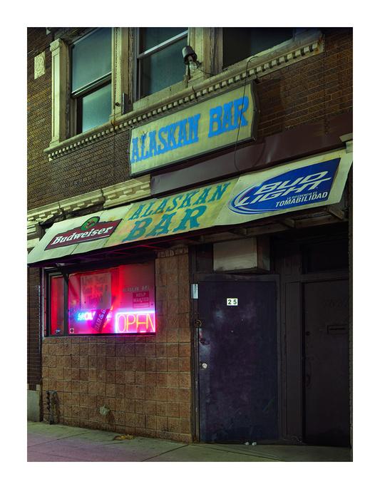 Alaskan Bar, Michigan Ave, Westside, Detroit 2017