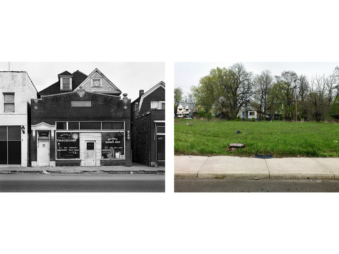 8000 Oakland Avenue, Detroit 1973-2010