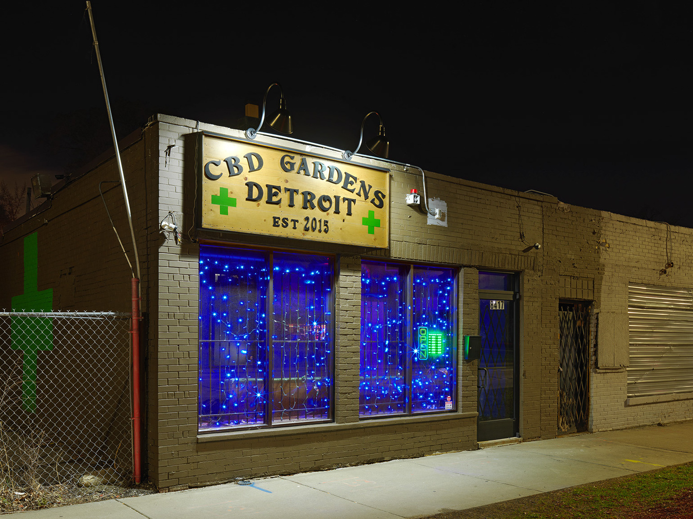 Medical Marijuana Dispensary #9, Westside, Detroit 2016